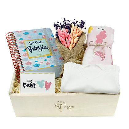 Mother & Baby Grace Box ( GİRL )