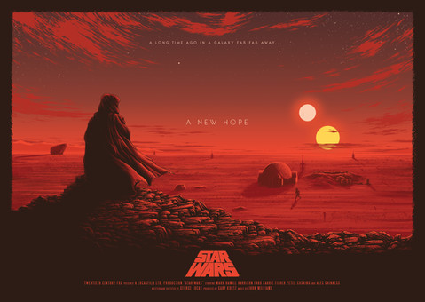 Star Wars: A New Hope by Sam Mayle