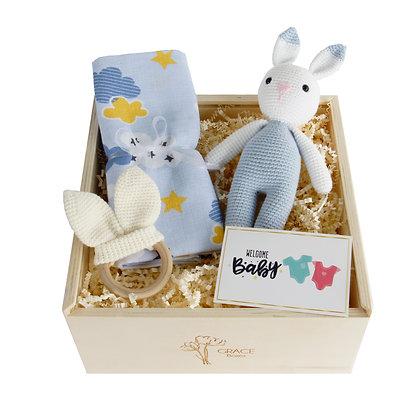 Mini Pretty Rabbit Grace Box ( Boy )