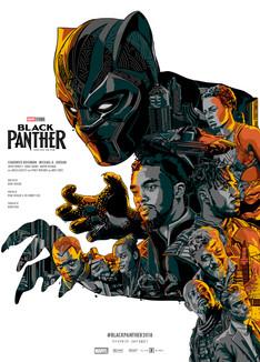 Black Panther by Eliud Rivera Hernandez