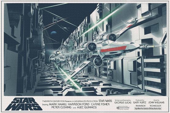 Star Wars: A New Hope by Nicolas Alejandro Barbera