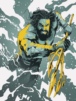 Aquaman by Harry Grundmann