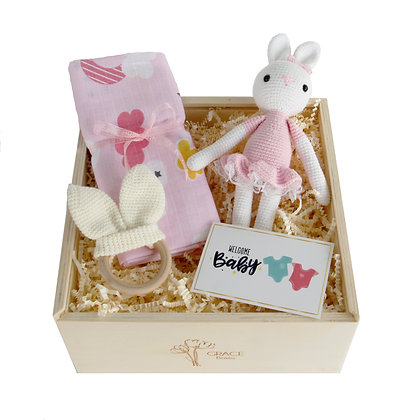 Mini Pretty Rabbit Grace Box ( Girl )
