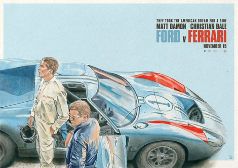 Ford V Ferrari by Colin Murdoch