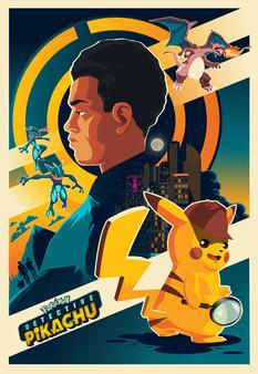 Detective Pikachu by J. Molas