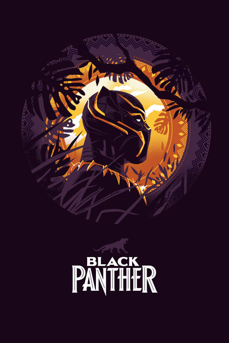 Black Panther by Danny Schiltz