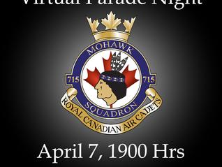 Virtual Parade Night - April 7