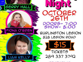Comedy Night (19+ Event) - Oct 26th