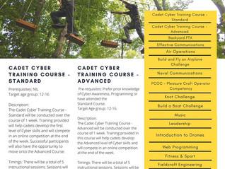 Virtual Summer Training Courses