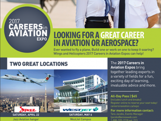 Cadet Opportunity - Toronto Careers in Aviation Expo