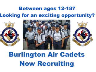 715 Cadets Now Recruiting