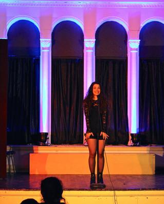 Sarah at the Wombat Cabaret!