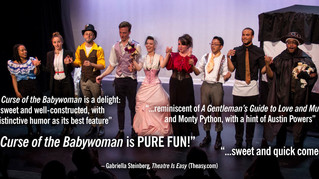 "Reviews are in for ""The Curse of the Babywoman""!"