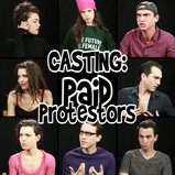 CASTING: Paid Protesters