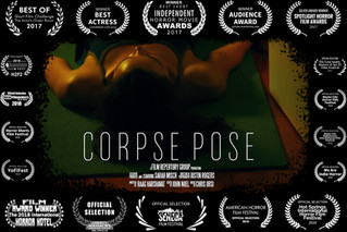 """""""Corpse Pose"""" Available on Amazon Prime!"""