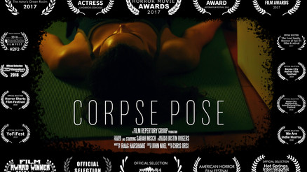 """Corpse Pose"" Available on Amazon Prime!"