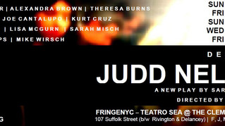 NYTheater Now reviews Destiny is Judd Nelson!