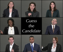 "Sarah Gets Presidential in ""Guess the Candidate"""