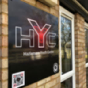 Hazlemere Youth Centre Sign