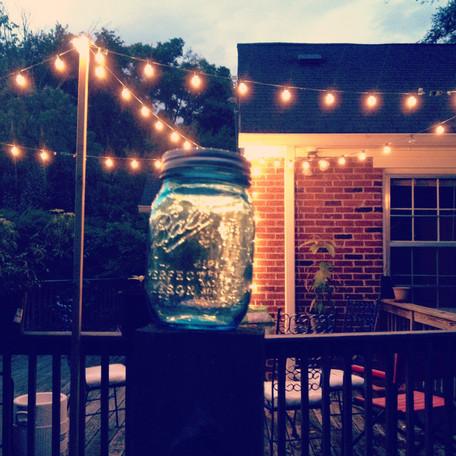 | Catching a few Tennessee fireflies |