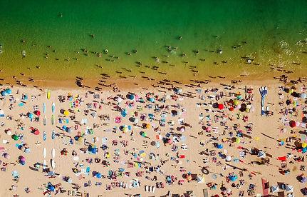 aerial-summer-view-of-people-crowd-havin