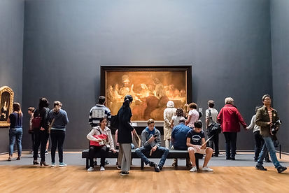 visitors-in-a-picture-gallery-the-rijksm