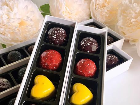 Dark Chocolate truffles available