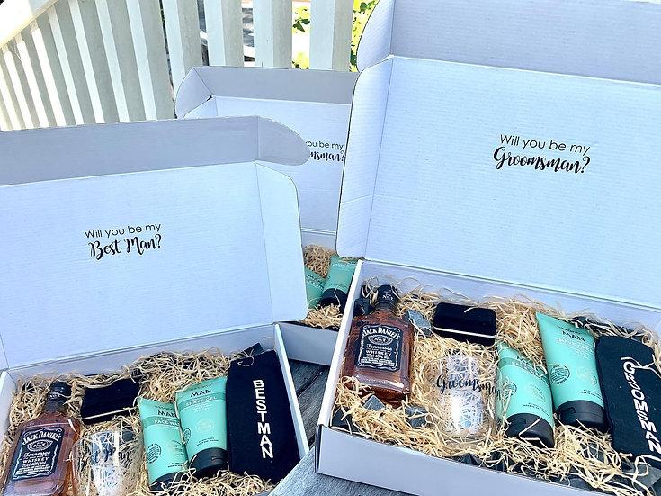 Best Man Proposal Box