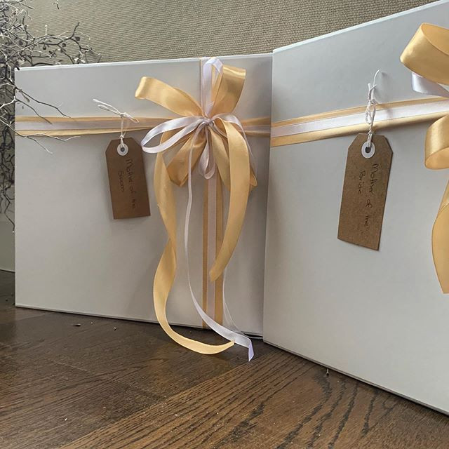 Mother of the Bride and Groom packaging