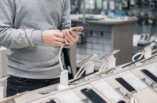 tienda de teléfonos inteligentes