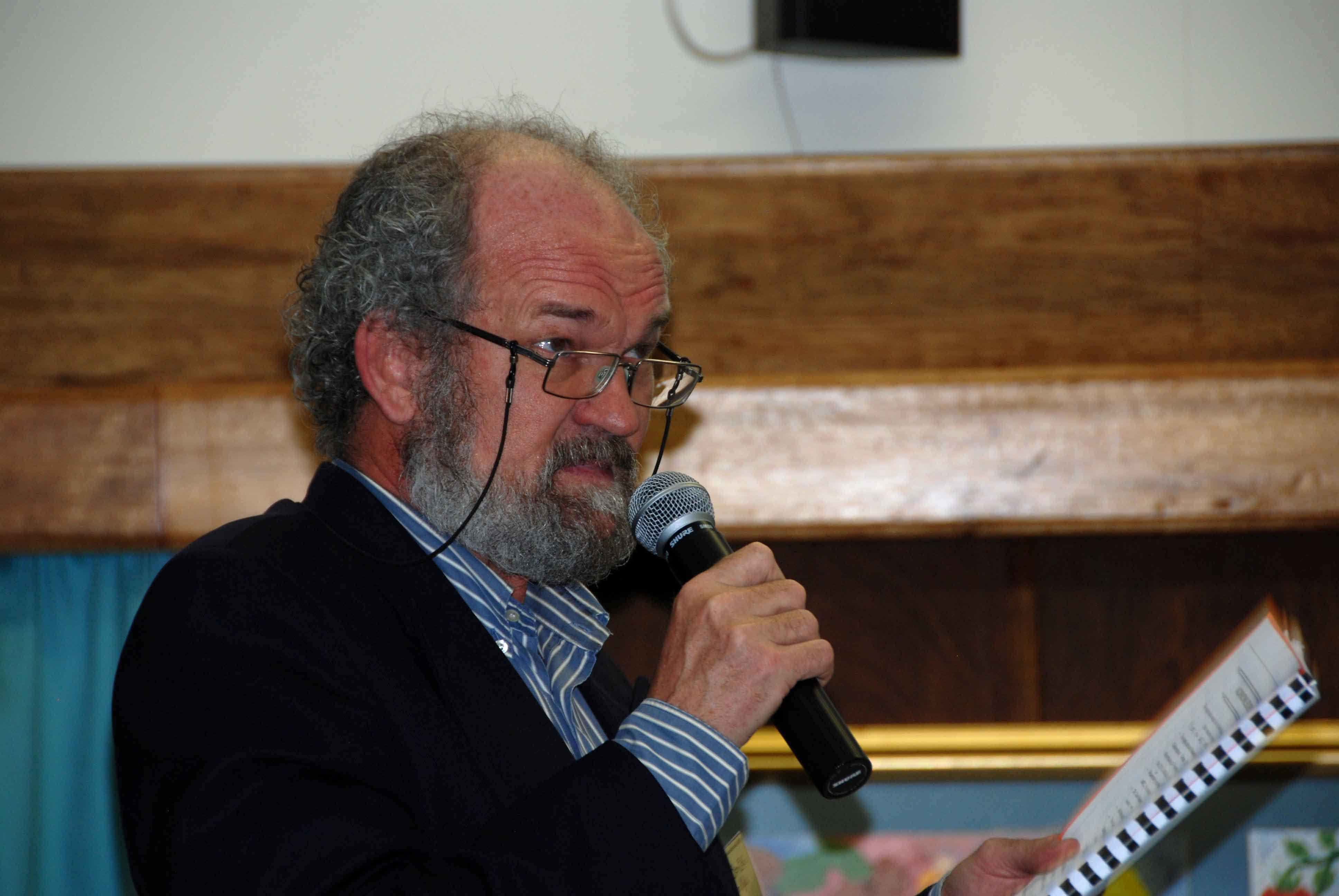 Prof Ben-Erik Van Wyk