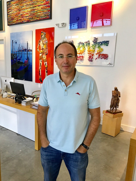 Rami Rotkopf: Delray's Blue Galleries