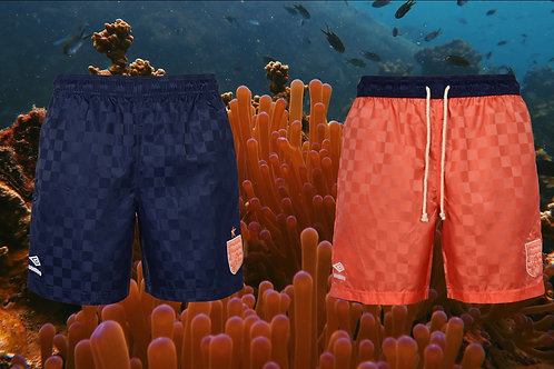Coral Studios x Umbro Reversible Checkerboard Shorts