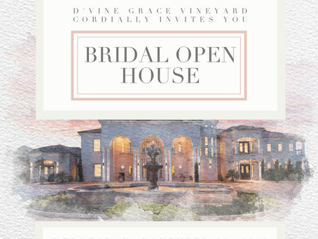 Bridal Open House! Join us November 20, 2019