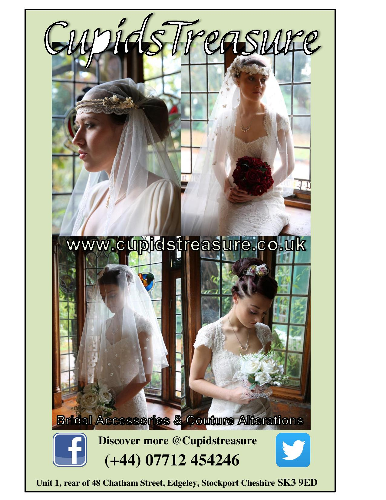 Bridal Accessories and Alterations in Manchester or Stockport - Cupids