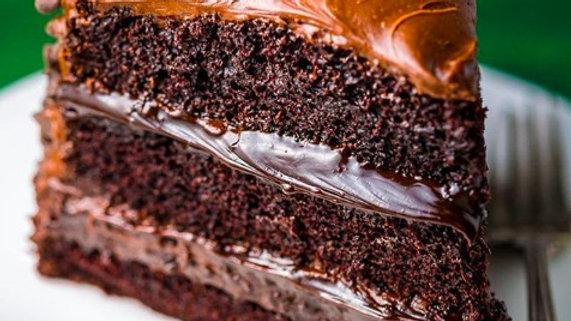 Vegan Death By chocolate cake