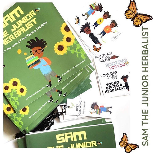 Sam The Junior Herbalist
