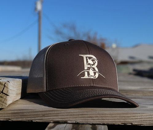 Brown/Gold Hat - BACKORDER