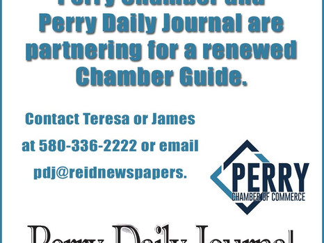 Chamber and Perry Daily Journal Partnership