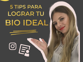 5 Tips Para Tener Tu Bio Ideal En Instagram