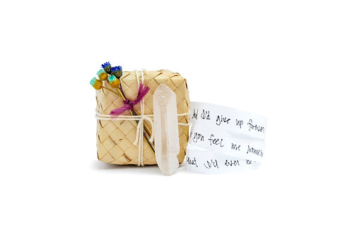 Crystal + Love Note Gift