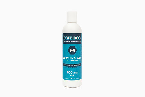 Soothing Suds: OATMEAL LAVENDER CBD DOG SHAMPOO
