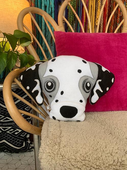 Dalmatian Accent Pillow
