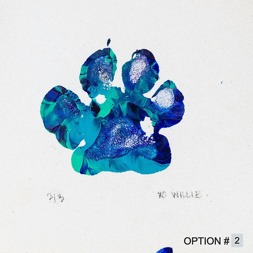 Willie Art -  Blue Sprinkles Collection