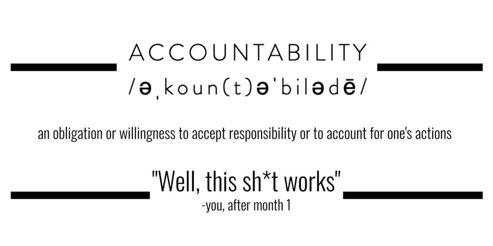 Artist Accountability: MARCH  SESSION (3/5 + 3/26)