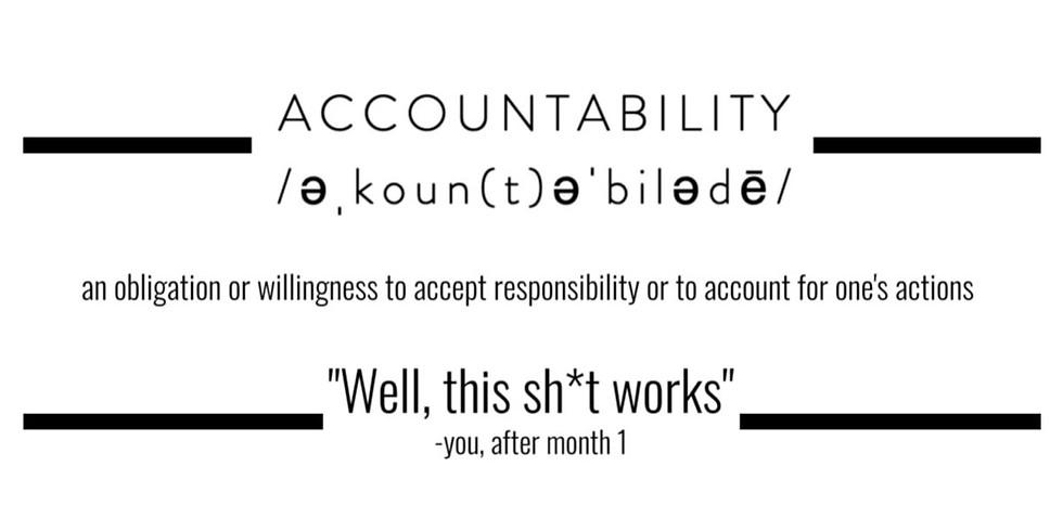Artist Accountability: October (10/10 + 10/31)