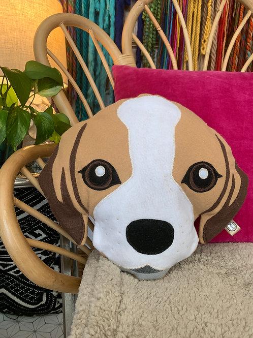 Beagle Accent Pillow
