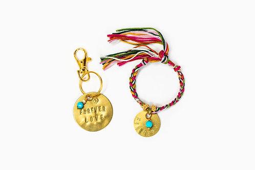 BFF Bracelet + Dog Tag