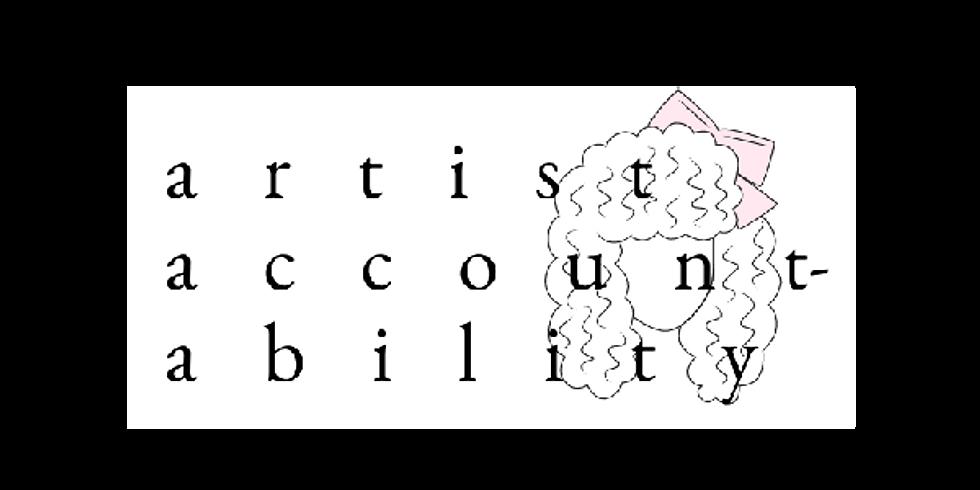 Artist Accountability - November Session (11/8 + 11/22)
