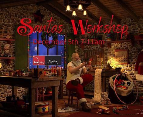 Santa Workshop and Pancake Breakfast